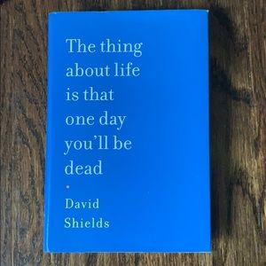 The About life is that one day you'll be dead book